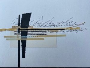 Digitaler Gottesdienst 1 Kachelbild Kalligraphie